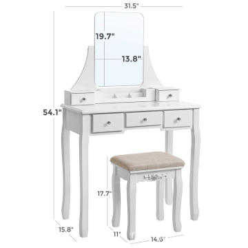 modern living room furniture modern dressing table with mirror